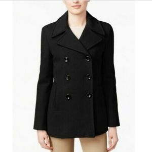Calvin Klein Double Breasted Pea Coat, Size 12P